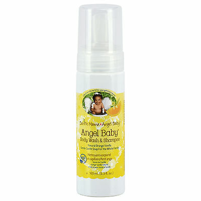 BRAND NEW Angel Baby, Shampoo & Body Wash, (160 ml) - Breastfeeding Specialists