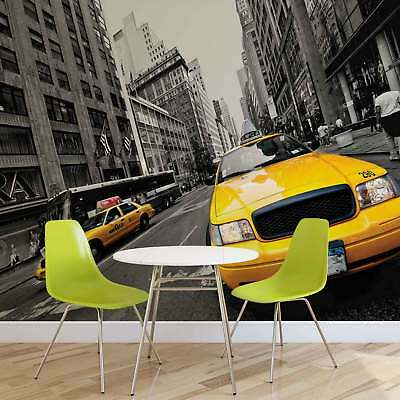 WALL MURAL PHOTO WALLPAPER XXL New York City Yellow Cabs (2766WS)