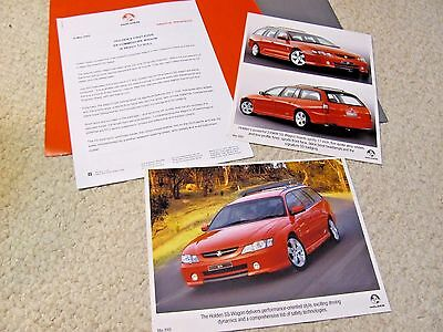 2003 Holden Ss Commodore Wagon Press Kit