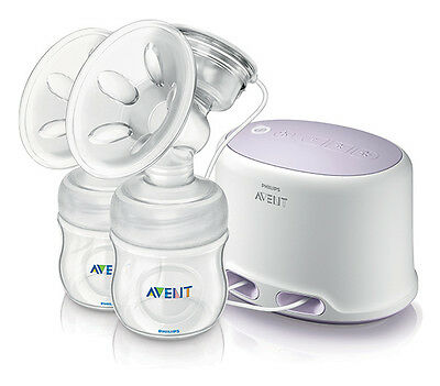 BRAND NEW Avent Comfort Double Electric Breast Pump - Breastfeeding Specialists