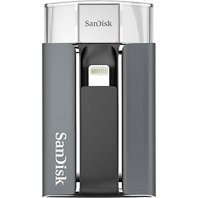 New SanDisk 128GB iXpand USB Flash Memory for iPhone & iPad