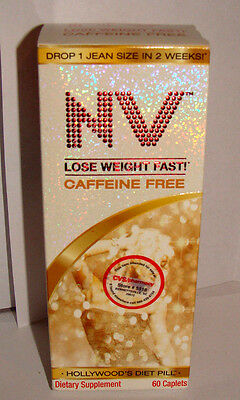 NV   Caffeine Free    Weight Loss Aid ~ 60 Caplets *collectible Only*    bx009