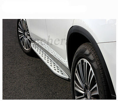 fit for Mercedes Benz GLC coupe C253 2016 2017 side step nerf bar running board