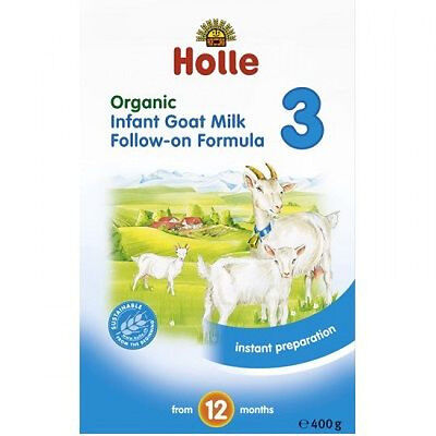 BRAND NEW Holle Organic Goat Milk Follow-on Formula Step 3 - Breastfeeding Speci