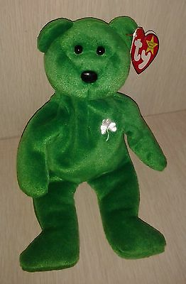 Plush Ty Erin Beanie Babies Original Retired