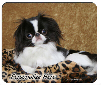Japanese  Chin   # 3     Personalized    Mouse Pad