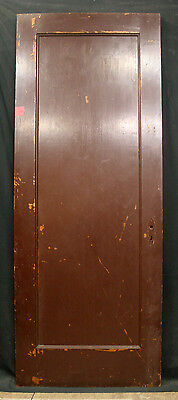 "32""x83"" Antique Vintage Arts & Crafts Mid Century Interior SOLID Wood Door Panel"