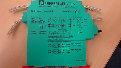 Pepperl+Fuchs Switch Amplifier - Signal conditioner KCD2-SR-2