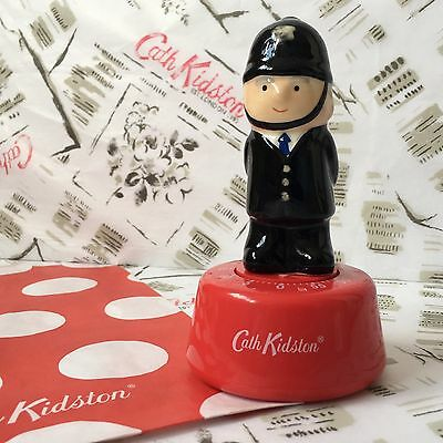 Genuine CATH KIDSTON Policeman 60 Minute Baking Timer NEW + Gift Bag Collectors