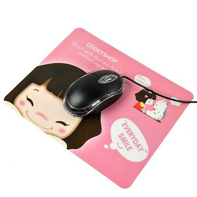 New Lovely Girl Pattern Computer Game Laptop Mouse Pad Mat