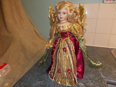 Homeart Lucy 16Inch Collectors Porcelain Doll.