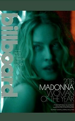 Madonna Is Billboard's 2016 Woman of the Year NO LABELS