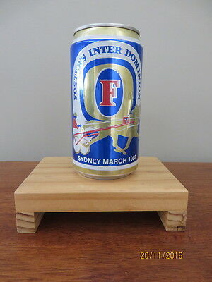 Beer Can 1988 Sydney Inter Dominion. (empty)