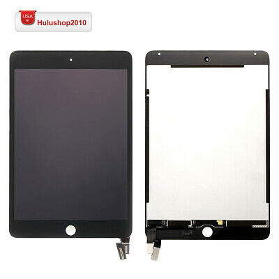 For Apple iPad Mini 4 A1538 A1550 LCD Screen Touch Digitizer Replacement Black