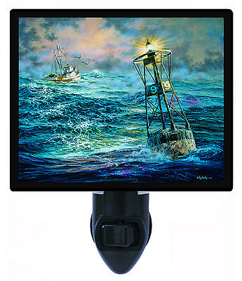 Night Light - Almost Home - Ocean Bouy - Bell - Sailing - Ships