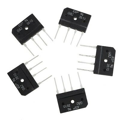 5 PCS GBJ3510 35A 1000 V Diode Bridge Rectifier New