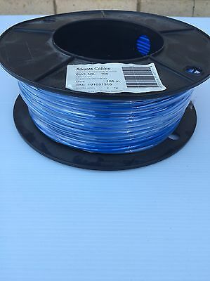 1.5mm 100m Roll Blue Building Wire Cable Brand New Advance Cables