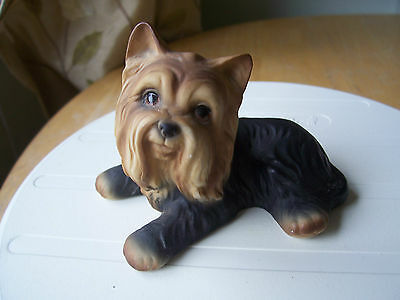 "3"" High HHH YORKSHIRE TERRIER DOG FIGURINE NO.H529082 HARVEY KNOX  EXC.CONDITN"
