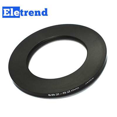 82mm to 52mm 82-52mm Male-Famale Step-Down Lens Filter Hood Cover Ring Adapter