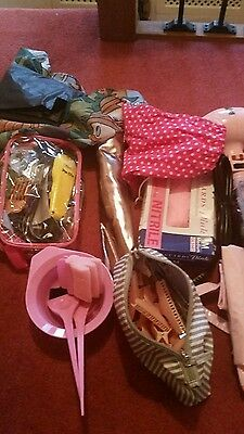 Hairdressing items perfect for mobile hairdresser.Big bag filled with items.