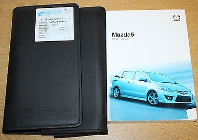 Mazda 5 Handbook Owners Manual Wallet 2005-2008 Pack 8048 !