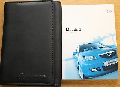 Mazda 2 Handbook Owners Manual Wallet 2003-2005 Pack 9656