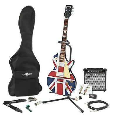 New Jersey Electric Guitar + Complete Pack Union Jack