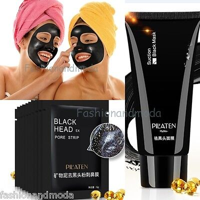 Pilaten Black Head Buccia Assassino Off Nero Maschera Maschera Per Viso Brufolo