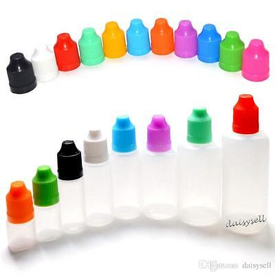 10ml Empty Plastic Squeezable Dropper Bottles Eye Liquid Useful Container