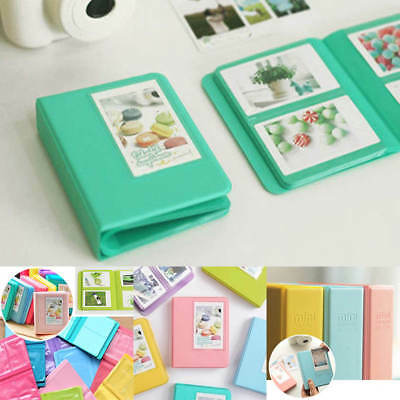 Mini Photo Album Case 64 Pockets for FujiFilm Polaroid Instax 7 7S 8 Camera Film