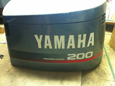 Yamaha cowl suit a V6, 150 hp  to  200 hp