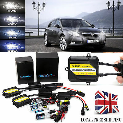 For Vauxhall Insignia CANBUS 9012 HIR2 9006 Xenon HID Conversion Kit Error Free