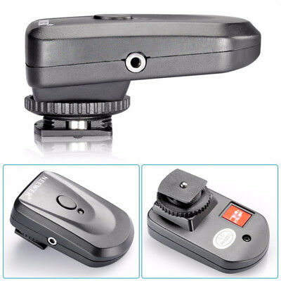 Neewer 4 Channels Wireless Transmitter with 2Receiver Hot Shoe Flash Trigger Set