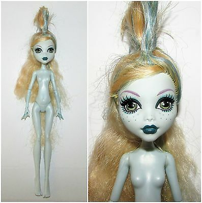 Nude Monster High Dawn of the Dance Lagoona Blue Doll