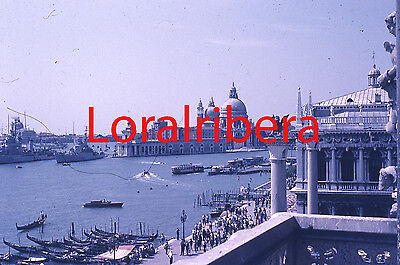 Diapositiva Italia Venecia 1959 Ilford 35Mm Slide Italy Venezia Photo Foto
