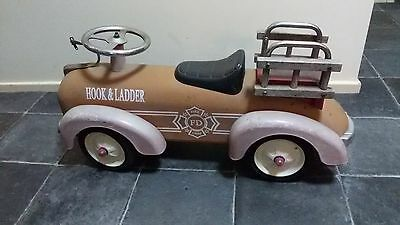 Vintage fire engine, Hook & Ladder