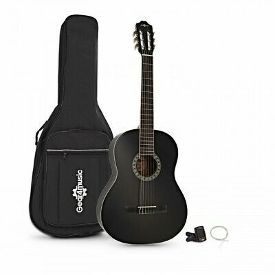 Classical Guitar Pack Black by Gear4music