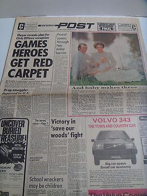 Reading Evening Post August 1978 Princess Anne Captain Mark Phillips & Peter