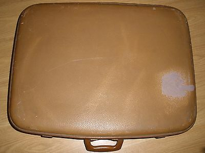 Vintage Retro Pre-Loved Spartan Suitcase - Display - Prop