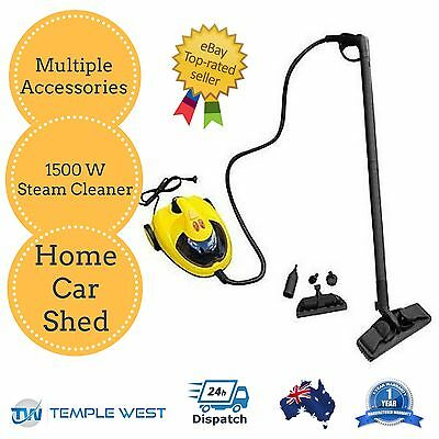 NEW High Pressure Carpet Floor Steam Cleaner Premium Home Car Upholstery 1500W
