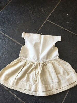 Vintage Cotton And Wool Girls/toddlers Embroidered Underwear Slip Petticoat