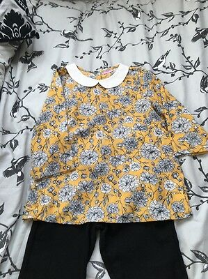 Girls Outfit 9+ 9-10 Skinny Jeans And Blouse