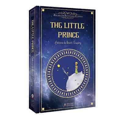 The Little Prince by Saint-Exupery 70th Anniv. Deluxe Hardcover Gift English Ver