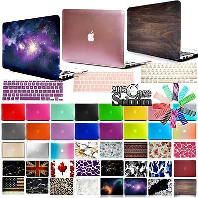Rubberized Matte Hardshell Case +UK/EU Keyboard cover for Apple Macbook