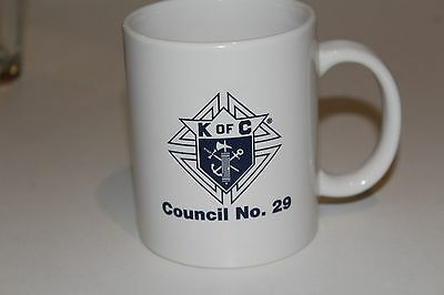 Knights of Columbus Coffee Cup--K OF C Council No. 29
