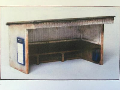 Brand New Oo/ho Scale/gauge Knightwing Station Halt Building