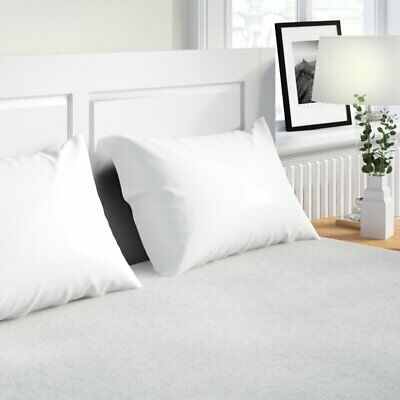 Comfortnights Terry Toweling Mattress Protector Double 135 x 190 x 35 cms