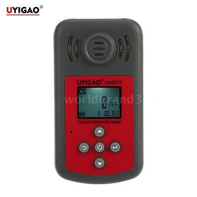 Handheld LCD Carbon Monoxide Meter CO Gas Tester Detector Thermometer Alarm T9L5