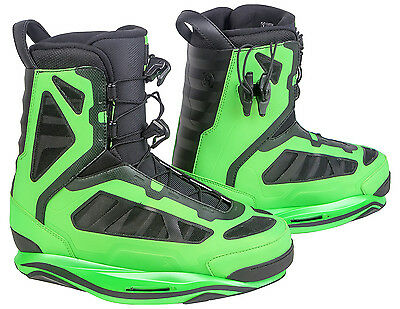 RONIX PARKS Boots 2016 iridescent lime Wakeboard Bindung