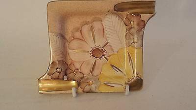 Art Deco Grays Susie Cooper style ashtray gilded and handpainted  A4431